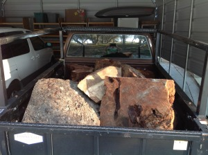 Burls in the truck